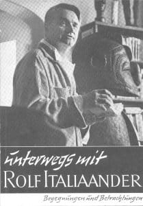 Unterwegs mit Rolf Italiaander – Begegnungen und Betrachtungen