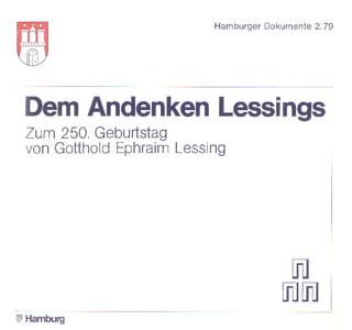 Dem Andenken Lessings – Zum 250. Geburtstag