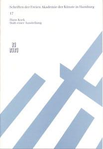 Nr. 17 Hans Kock – zum 70. Geburtstag