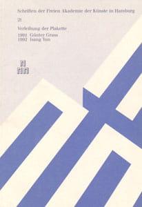 Nr. 21 Dokumentation der Plakettenverleihung 1992