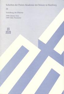 Nr. 26 Dokumentation der Plakettenverleihung 1999