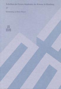 Nr. 27 Repräsentant und Aussenseiter – Erinnerung an Hans Mayer
