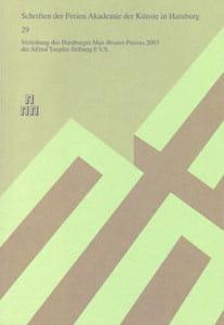 Nr. 29 Verleihung des Hamburger Max-Brauer-Preises 2003