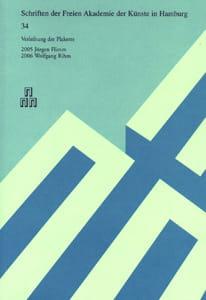 Nr. 34 Dokumentation der Plakettenverleihung 2006